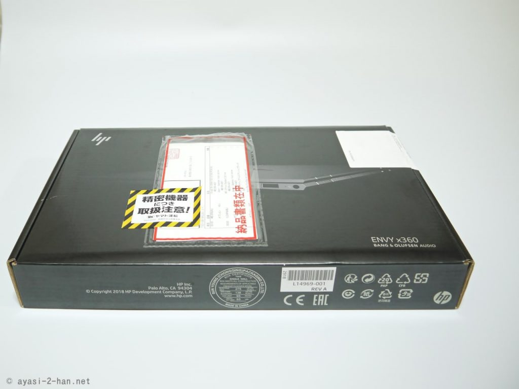 HP ENVY x360 13 Package