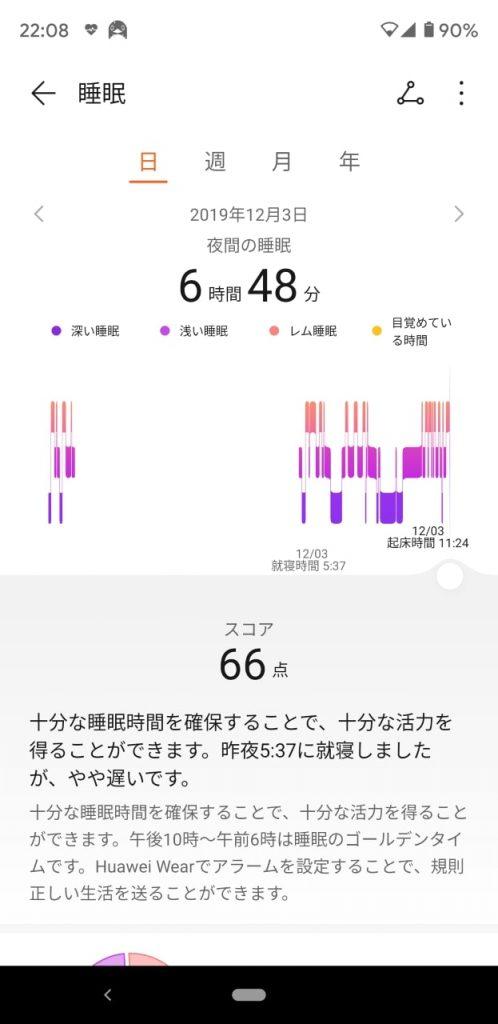 HuaweiBand4SleepResult01