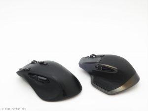 ホイールが2つあって便利! ロジクールのMX Masterという多ボタンマウスがなかなか良い。