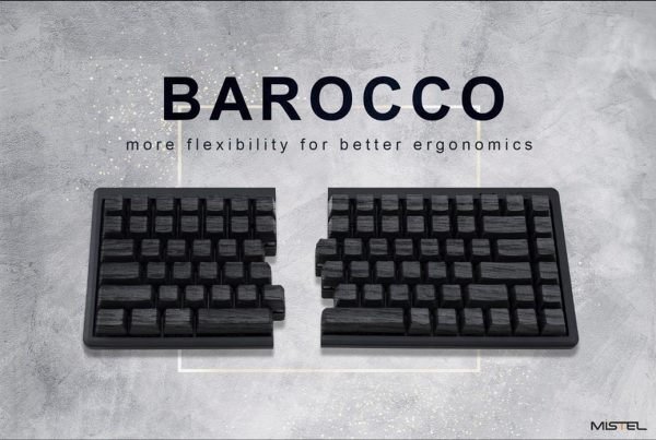 Mistelの新しい左右分離型メカニカルキーボードの「BAROCCO MD770」ってヤツがメチャクチャ良さそう
