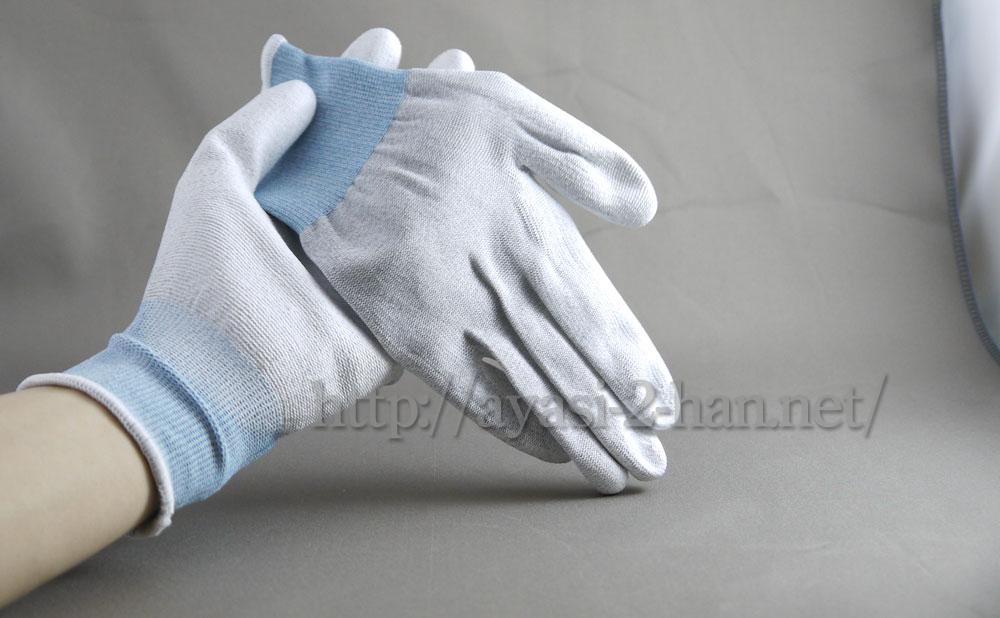 なんとなく静電気対策用の手袋を買ってみたり