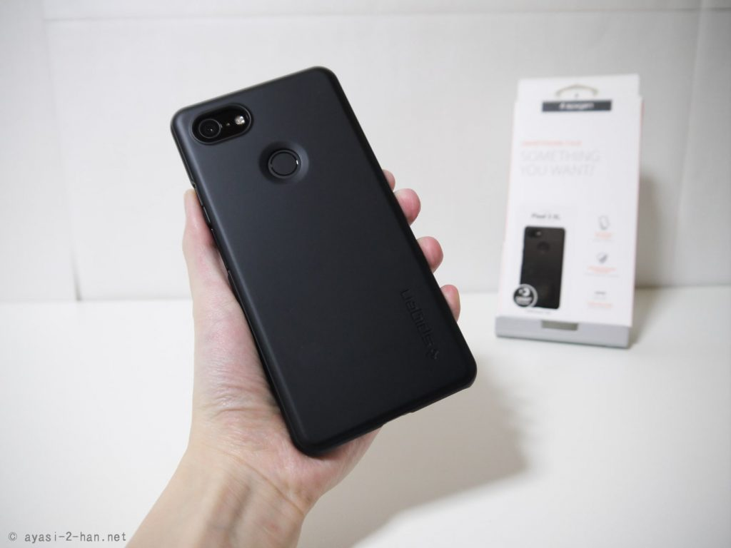Spigen_Pixel3 XL_Case-Pixel3XL-ThinFit_Back