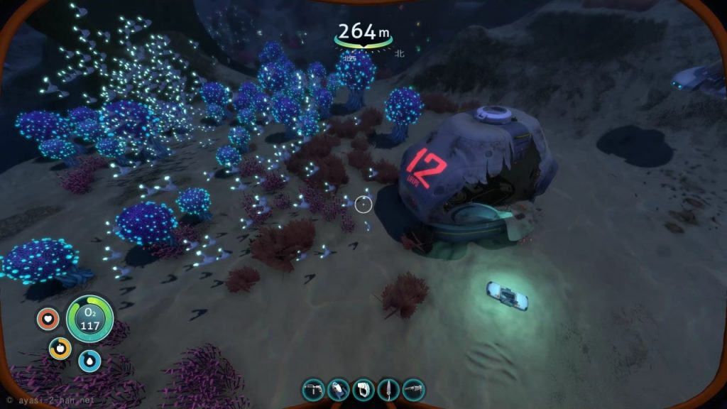 Subnautica-Destroyed_Lifepods