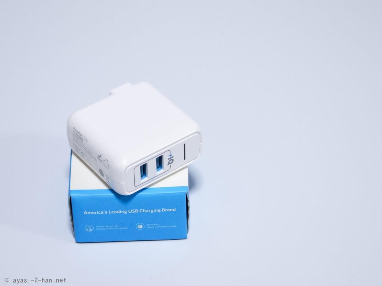 ちょっと良い充電器を使うといろいろ快適! 2ポートの急速充電器でオススメの Anker PowerPort 2 Eliteを使ってみた感想
