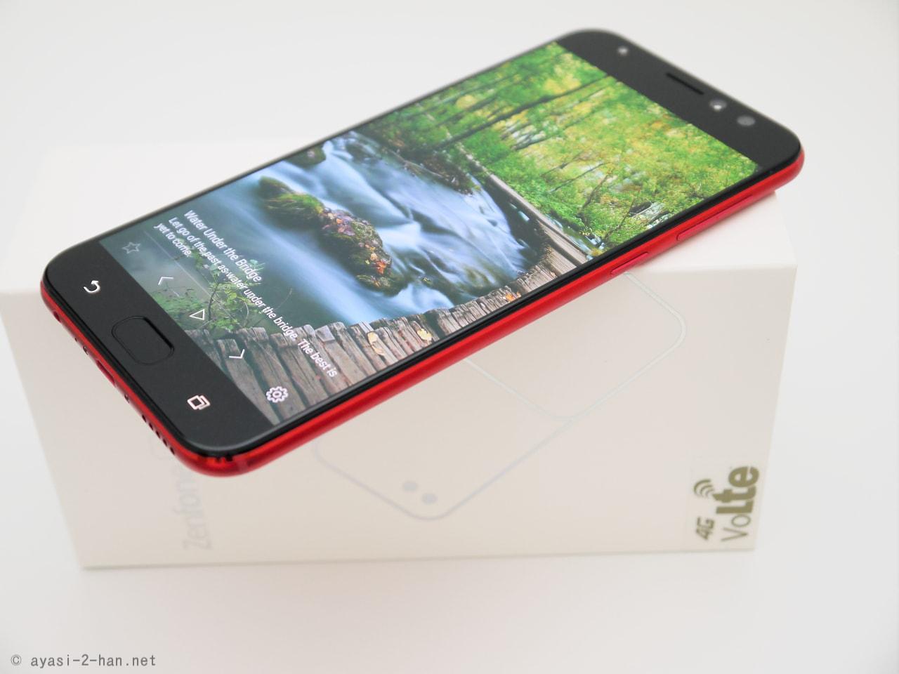 「ちょうど良いより、ちょっと良い」ASUS ZenFone 4 Selfie Proの簡単なレビューというか感想