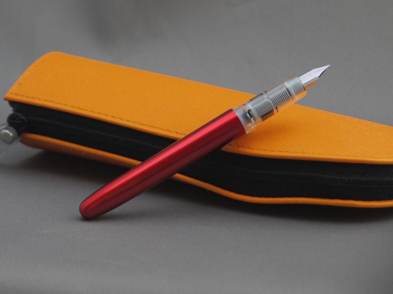 左利きでもふつうに使えてうれしい。 安価な万年筆「プレジール」の感想とか